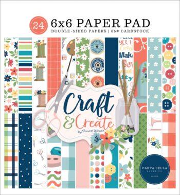 carta bella craft create 6x6 inch paper pad cbcr13