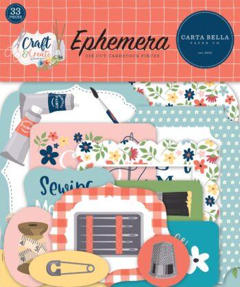 carta bella craft create ephemera cbcr137024
