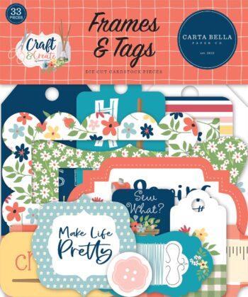 carta bella craft create frames tags cbcr137025