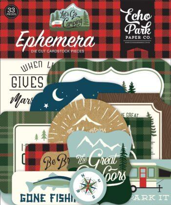 echo park lets go camping ephemera lgc246024