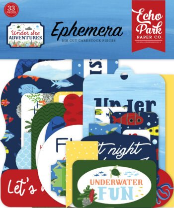 echo park under sea adventures ephemera usa245024