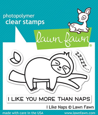 lf2163 lawn fawn clear stamps i like naps web