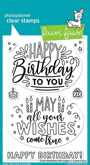lf2599 lawn fawn clear stamps giant birthday messages web