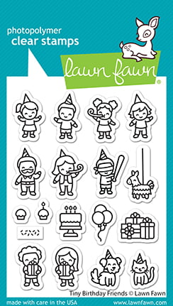 lf2601 lawn fawn clear stamps tiny birthday friends web