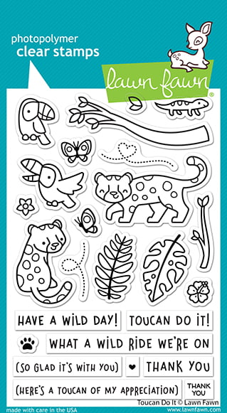 lf2603 lawn fawn clear stamps toucan do it web
