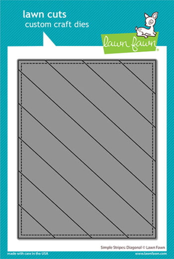 lf2620 lawn fawn creative cuts stand alone dies simple stripes diagonal web