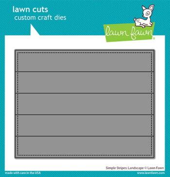 lf2621 lawn fawn creative cuts stand alone dies simple stripes landscape web