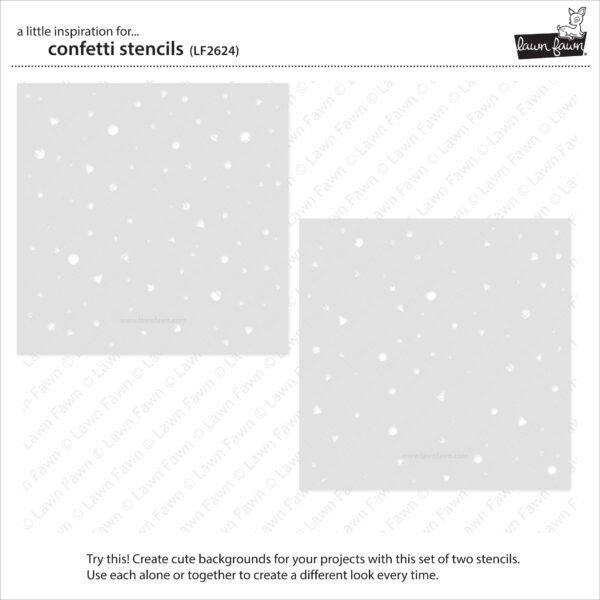 lf2624 lawn fawn confetti stencils 2