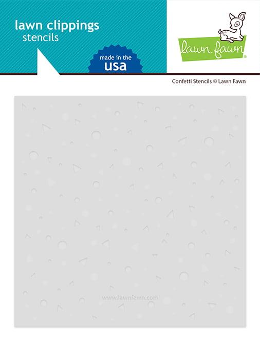 lf2624 lawn fawn confetti stencils web
