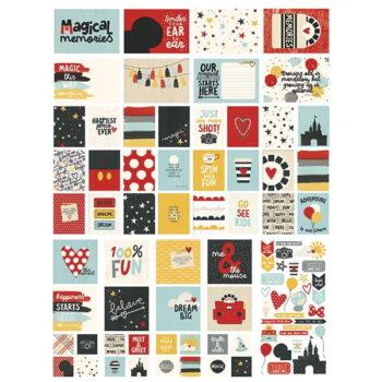 scrapbook store eu say cheese iii disney simple stories card die cuts embellishments jounaling card project life