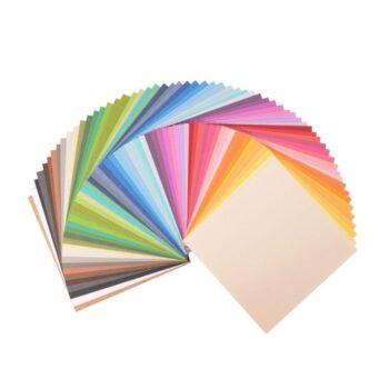"2923 199 Florence Mega Multipack Textured Cardstock 6""x6"""
