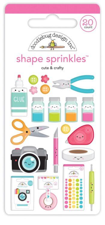 7248 cute crafty shape sprinkles