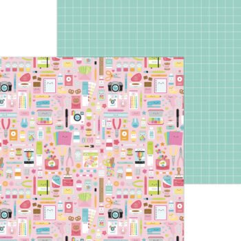 7277 cute crafty double sided cardstock