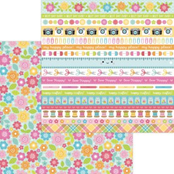 7279 painted poises double sided cardstock