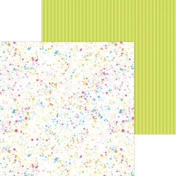 7285 colorful canvas double sided cardstock