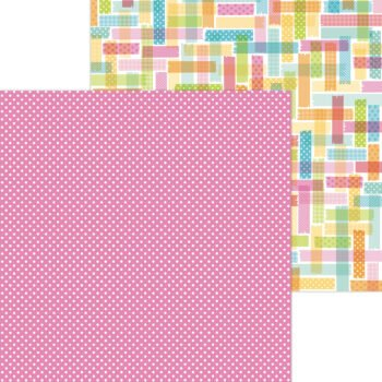 7286 pretty in pink double sided cardstock