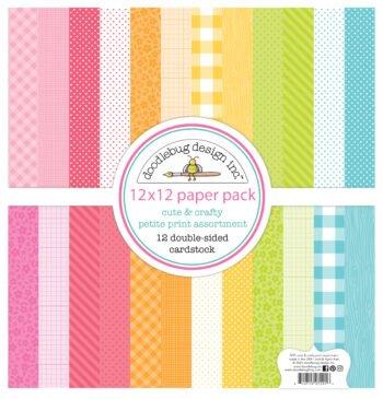 7291 cute crafty petite prints assortment pack