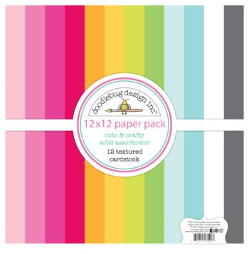 7292 cute crafty textured cardstock assortment pack