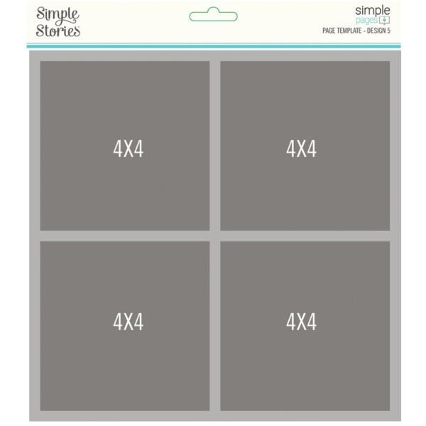 simple stories simple pages template design 5 1583