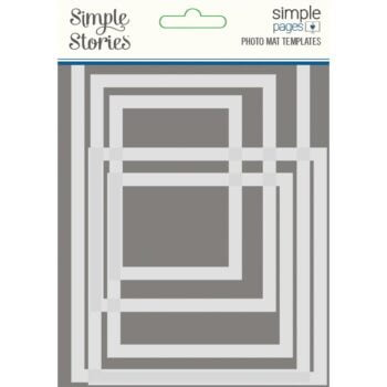 simple stories simple pages template photo mat 158 4