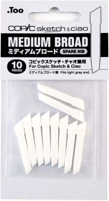 Copic Medium broad spare nib