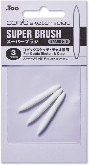 copic superbrush spare nibs