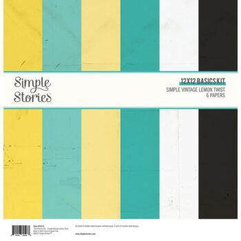 simple stories simple vintage lemon twist 12x12 in