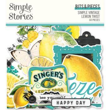 simple stories simple vintage lemon twist bits pie