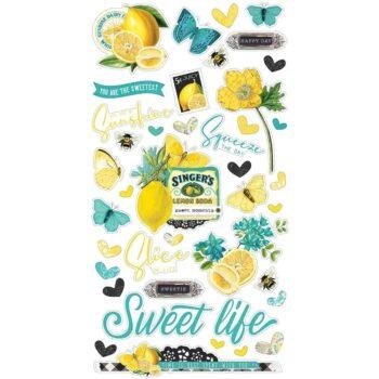 simple stories simple vintage lemon twist chipboar 2