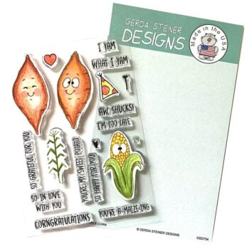 GSD754 yams corn stamps by gerda steiner