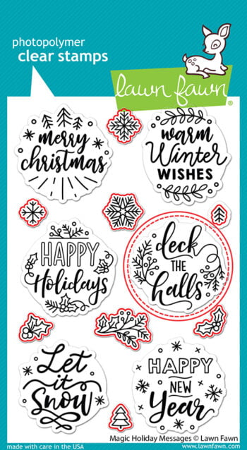 LF2677 Lawn Fawn Coordinating dies Magic Holiday Messages Lawn Cuts2 sml