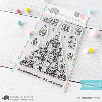 S mama elephant clear stamps OH GNOMIE TREE grande
