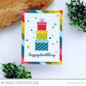 my favorite things party time 6x6 inch paper pad e 2