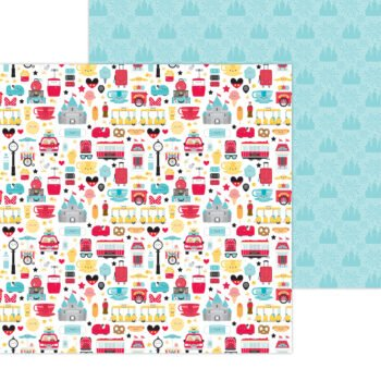 7327 Doodlebug Fun At The Park fun at the park double sided cardstock