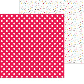 7329 Doodlebug Fun At The Park mini dot double sided cardstock
