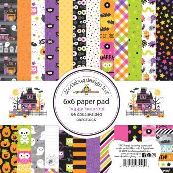 7443 Doodlebug Happy Haunting 6x6 paper pad