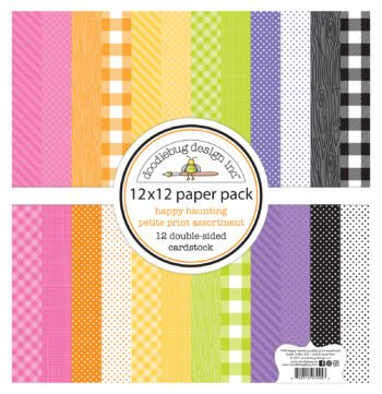 7445 Doodlebug Happy Haunting petite prints assortment pack