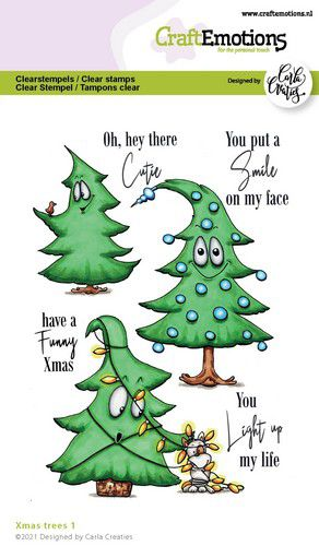 craftemotions clearstamps a6 xmas trees 1 eng carla creaties 321943 nl G