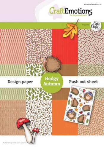 craftemotions design hedgy autumn 12 vel push out vel a5 a5 1 321494 nl G