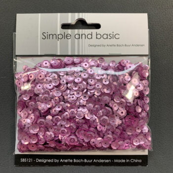 simple and basic pink sequin mix sbs121